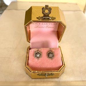 Juicy Couture snowflake earrings